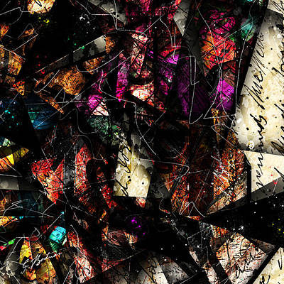 Abstracta_16 Tapestry Poster by Gary Bodnar