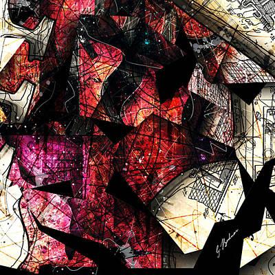 Abstracta_21 Stratavari Moderna Poster by Gary Bodnar