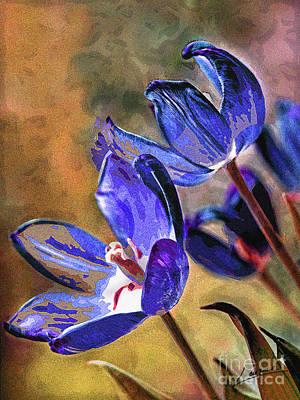 Abstracticus Tuliptimus Poster