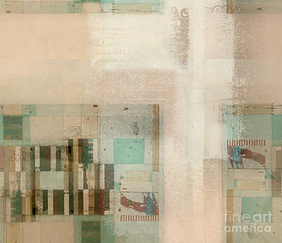 Poster featuring the digital art Abstractitude - C01b by Variance Collections