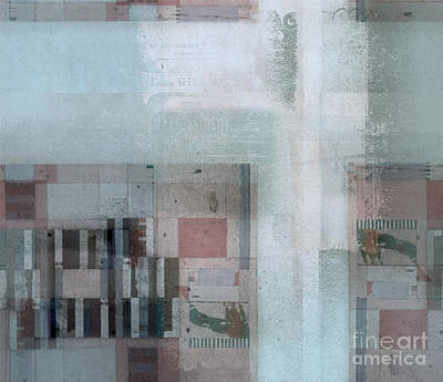 Poster featuring the digital art Abstractitude - C7 by Variance Collections