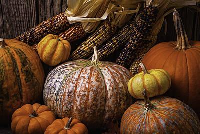 Abundance Of Autumn Poster by Garry Gay