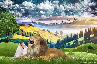 Abundant Joy Poster by Dolores Develde