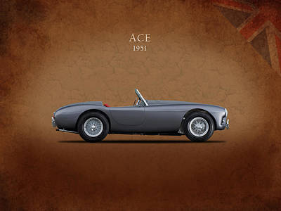Ac Ace 1951 Poster by Mark Rogan