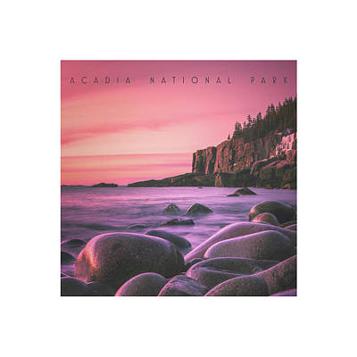 Acadia National Park Poster by Chad Tracy