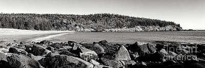 Acadia National Park Sand Beach Poster by Olivier Le Queinec