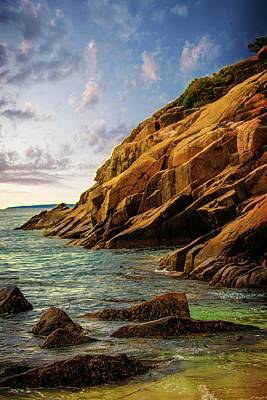 Acadia National Park--maine Poster by Sherman Perry