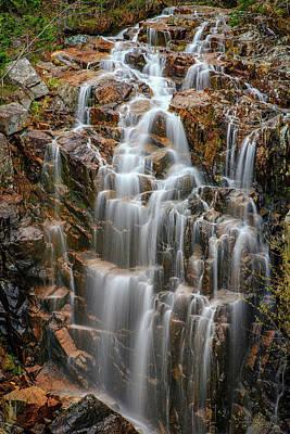 Acadia's Hadlock Falls Poster by Rick Berk
