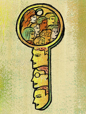 Access Poster by Leon Zernitsky