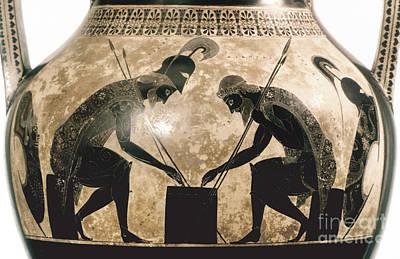 Achilles & Ajax, C540 B.c Poster by Granger