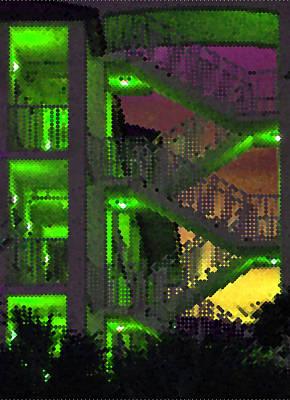 Acid Glow Poster