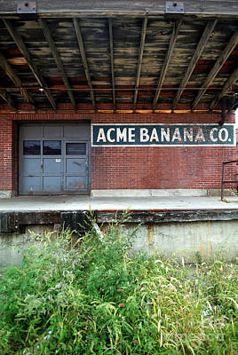 Acme Banana Company Strip District Pittsburgh Poster