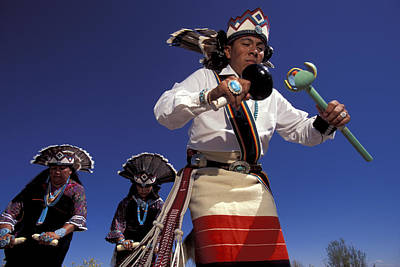 Acoma Dancers Poster