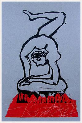 Acrobat 2 Poster by Adam Kissel