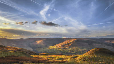Across To Edale Poster