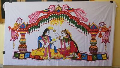 Addutara-marrege-curtain Poster by Venkat Meruvu