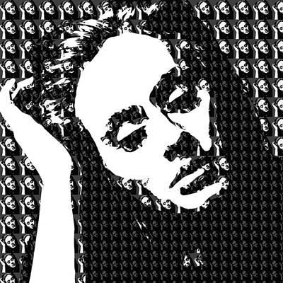 Adele 21 Album Cover Digital Art Poster by Ryan Dean