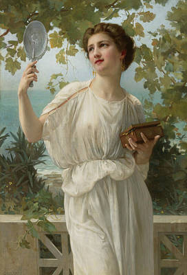 Admiring Beauty Poster by Guillaume Seignac