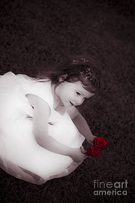 Adorable Little Flower Girl Poster by Jorgo Photography - Wall Art Gallery