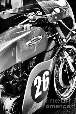 Aermacchi Harley Davidson Poster by Tim Gainey
