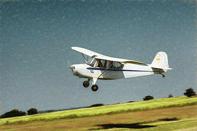 Poster featuring the photograph Aeronca 7a C by James Barber