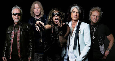 Poster featuring the photograph Aerosmith by Sean