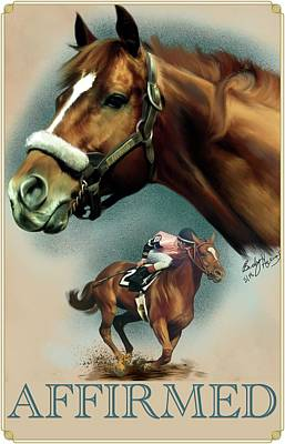 Affirmed With Name Decor Poster