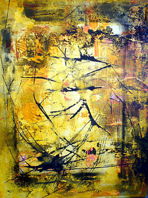 Aforethought Abstract Poster