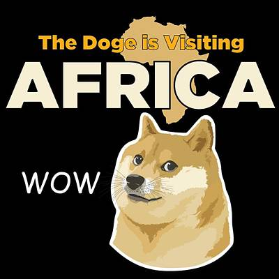 Africa Doge Poster by Michael Jordan