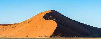 Africa Morning - Namibia Sand Dune Photograph Poster by Duane Miller