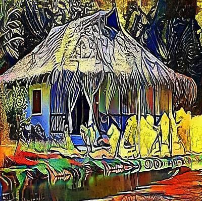 African House - My Www Vikinek-art.com Poster by Viktor Lebeda