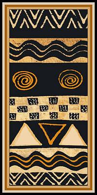 African Memories Poster by Vagabond Folk Art - Virginia Vivier