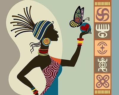 African Queen II Poster