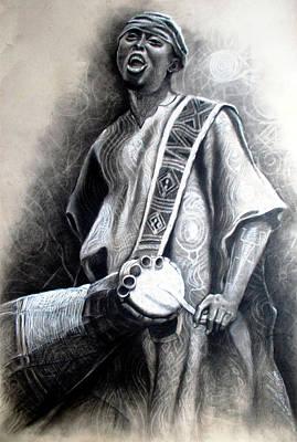 African Rythm Poster