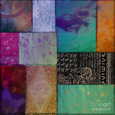 Afrikan Batik Poster by Mindy Sommers