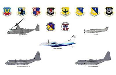 Afsoc Cannon Afb Poster