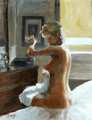 After Her Bath Poster by Ann Radley