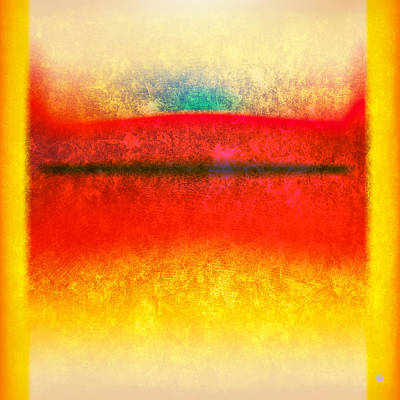 After Rothko 8 Poster