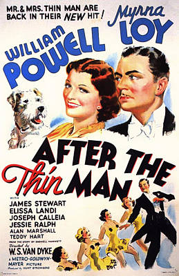 After The Thin Man 1935 Poster by Mountain Dreams