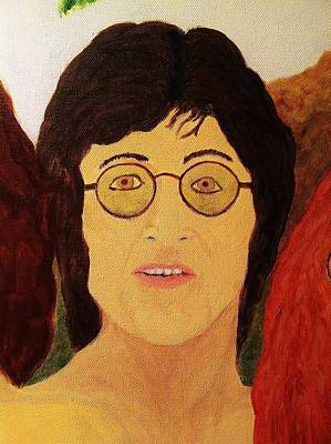Afterlife Concerto John Lennon Poster by Rand Swift
