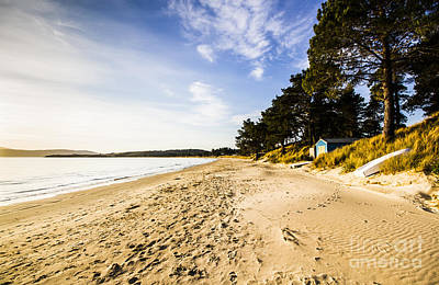 Afternoon Beach Landscape  Poster by Jorgo Photography - Wall Art Gallery