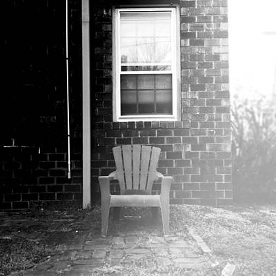 Afternoon Chair Poster by Henry Lohmeyer