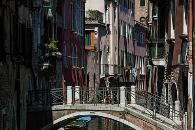 Poster featuring the photograph Afternoon In Venice by Alex Lapidus