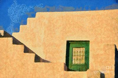 Afternoon Light On Sifnos Island Poster by George Atsametakis