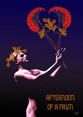 Afternoon Of A Faun Poster by Quim Abella