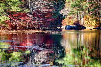 Afternoon Reflection Poster by Jeff Folger