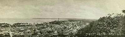 Agana Capital Of Guam Panorama Poster by eGuam Panoramic Photo