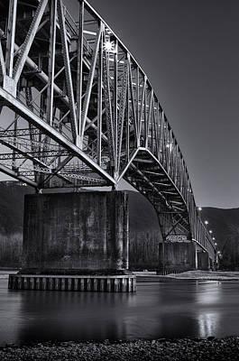 Agassiz-rosedale Bridge Poster