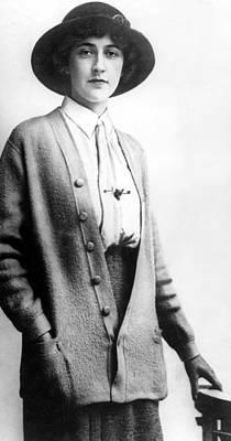Agatha Christie, Ca.1912 Poster by Everett