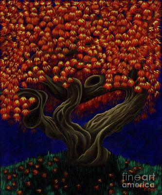 Aged Autumn Poster
